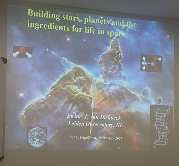 Building stars, planets and the ingredients for life in space